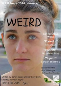 WEIRD at the Arcola Theatre